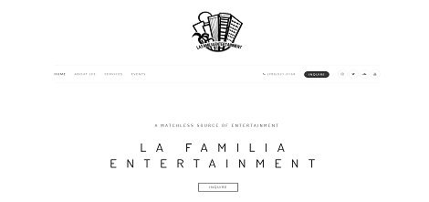 LFE Miami - La Familia Entertainment Website Project